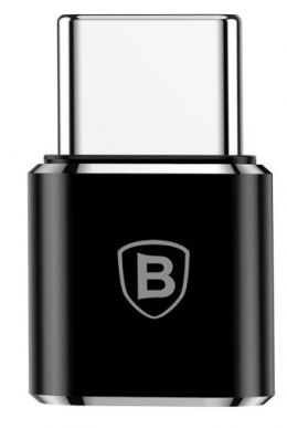 Adapter Baseus Micro USB do USB Type-C - czarny