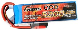 Akumulator Gens Ace 5200mAh 11,1V 10/20C 3S2P 3.5mm Banana