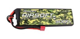 Akumulator Gens Ace 25/50C 3000mAh 3S1P 11.1V T-Plug, do broni Airsoft