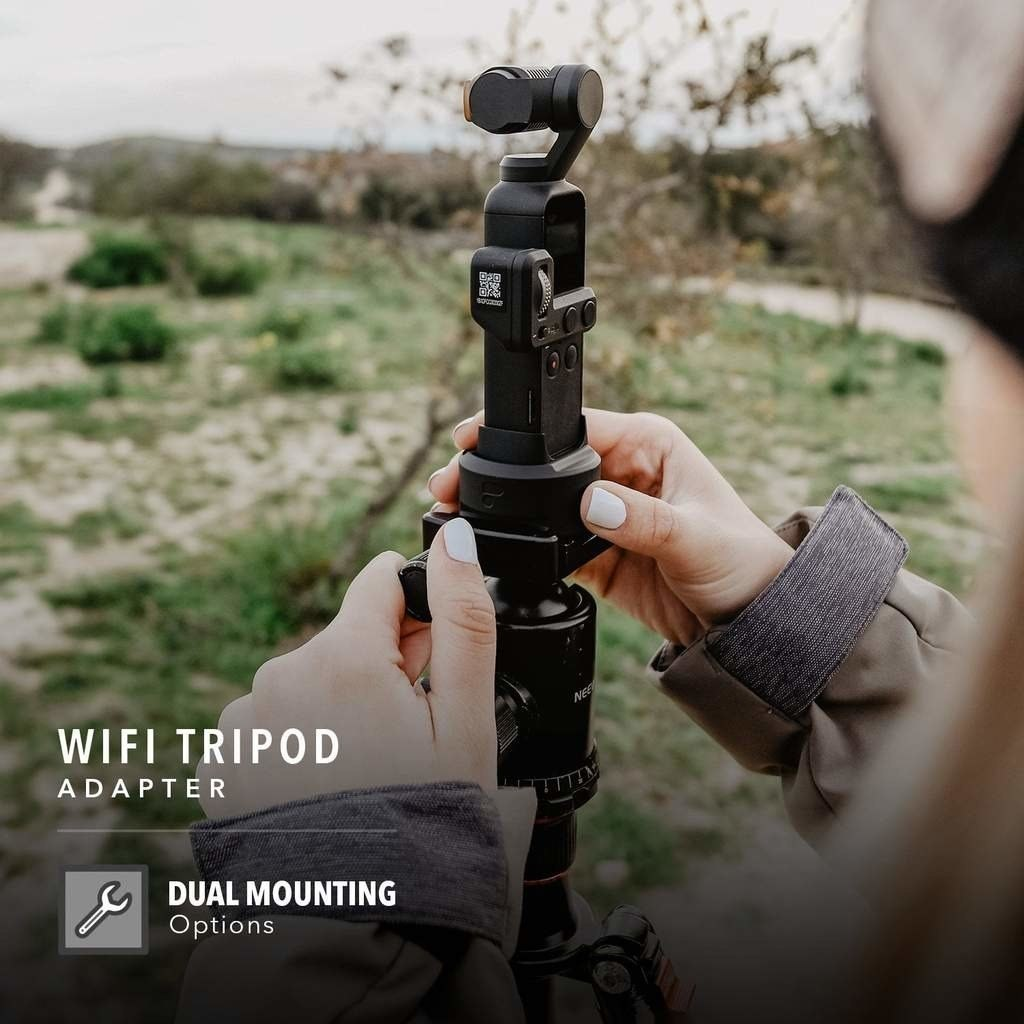 WiFi Base PolarPro do DJI Osmo Pocket (PCKT-WFI-TRP)