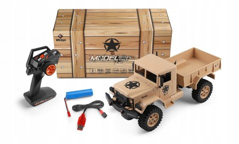 Model Army Truck RC w skali 1:12. WLtoys 124301
