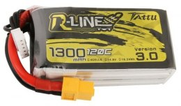 Akumulator Tattu R-Line Version 3.0 1300mAh 14,8V 120C 4S1P XT60