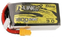 Akumulator Tattu R-Line Version 3.0 1800mAh 14,8V 120C 4S1P XT60