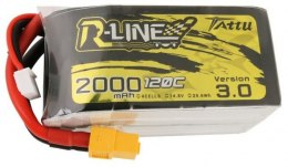 Akumulator Tattu R-Line Version 3.0 2000mAh 14,8V 120C 4S1P XT60