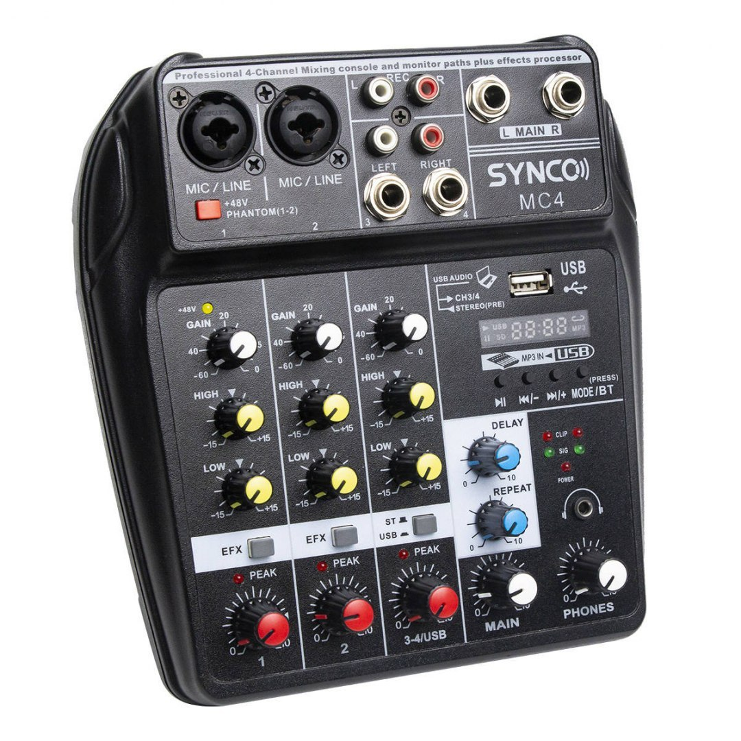 Mikser audio Synco MC4
